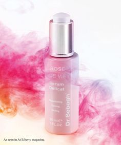 Rose De Vie Serum Delicat, Dr Sebagh - An intensely moisturising and replenishing serum that calms irritated and very sensitive skin. This silky serum restores the skin's suppleness and elasticity, whilst maintaining its healthy condition.  It has anti-ageing and anti-oxidant benefits which reduce redness whilst protecting and soothing the skin. #LibertyBeauty