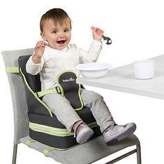 Rehausseur Up & Go ultra compact et réglable en hauteur ! http://produits-puericulture.babymoov.fr/rehausseur-up-go.html