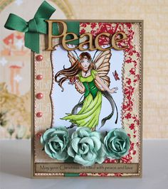 The Sweet Pea Stamps Design Team Gallery Blue Fairy, Fairy Lights, Peace And Love, Christmas Cards, Stamps, Mermaid, Sweet, Design, Fairies