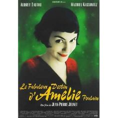 Amelie- A Quai Composed by Yann Tiersen.All the Amelie music bought Yann Tiersen in limelight and now he is compared with other musicians like Chopin, Erik S. Audrey Tautou, Audrey Hepburn, Film Movie, See Movie, Comedy Film, Great Films, Good Movies, Amazing Movies, Famous Movies
