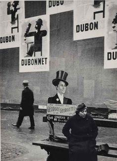 Paris, 1934 by André Kertész