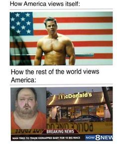 Long Live 'murica by - A Member of the Internet's Largest Humor Community Crazy Funny Memes, Really Funny Memes, Stupid Funny Memes, Wtf Funny, Funny Laugh, Funny Relatable Memes, Hilarious, Funny Humor, Rasengan Vs Chidori