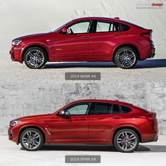 2014 vs 2018 BMW X4 Design Comparison link: