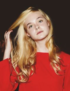 Elle Fanning - Love the Look on Her Face.