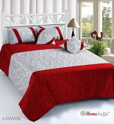 Checkout this latest Bedsheets_1000-1500 Product Name: * Stylish Buy Exotic Velvet Double Bedsheet * Fabric : Bedsheet - Velvet Pillow Covers - Velvet   Cushion Cover - Velvet Dimension: ( L X W ) - Bedsheet - 100 in x 90 in Pillow Cover - 28 in x 18 in  Cushion Cover -16 in X 16 in Description : It Has 1 Piece Of Double Bedsheet  2 Pieces Of Pillow Covers  & 2 Pieces Of Cushion Covers Work: Printed Thread Count: 160 Country of Origin: India Easy Returns Available In Case Of Any Issue   Catalog Rating: ★4.1 (715)  Catalog Name: Smart Stylish Buy Exotic Velvet Double Bedsheets Vol 1 CatalogID_425000 C53-SC1101 Code: 757-3100092-9702