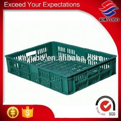 Heavy Duty Stackable Plastic Storage Crate