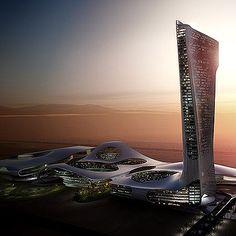 New Nexus-style buildings