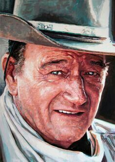 John Wayne. Actor and American! He believed in the exceptionalism of our nation.