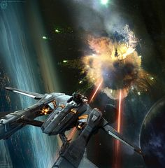 Aegis Vanguard Concept Art Star Citizen on Behance