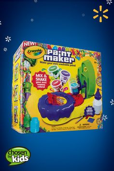 Crayola Paint Maker | Walmart—A colorfully fun way to encourage creativity in young artists. See the full list of kids' favorite toys and gifts.