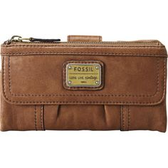 Fossil Emory Clutch $64.99 - $65.00: i also have a fossil wallet, it fits a lot of stuff =D