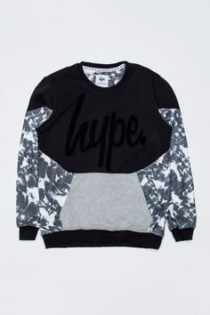 HYPE MONOTONE POCKET CREWNECK JUMPER  Available from: https://www.justhype.co.uk/unisex/hype-monotone-pocket-crewneck-jumper