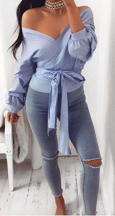 trendy ootd: blouse + reips