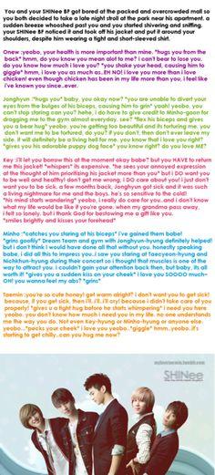 shinee+scenarios   shinee shinee scenarios fanfic taemin minho key jonghyun