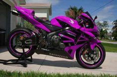 Purple CBR 600 RR