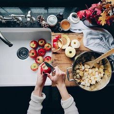 Image about food in Fall-Autumn 🍁 🎃 by Beautiful Everyday Aesthetics Autumn Aesthetic, Aesthetic Boy, In Vino Veritas, Mets, Autumn Inspiration, Pumpkin Spice, Food Photography, Food Porn, Good Food