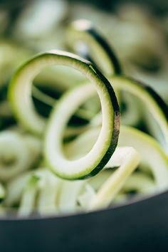 Zucchini Noodles for Zucchini Spaghetti | pinchofyum.com