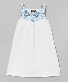 Floral Yoke Dress