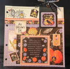October Page -  A time to Flourish by Jan Kruger