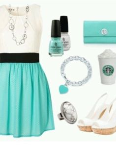 Daughter of Poseidon prom outfit