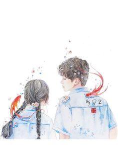 Read 8 teenfiction from the story mentahan cover HIATUS by Rarpllck with reads. Manga Couple, Anime Love Couple, Couple Art, Cute Anime Couples, Anime Art Girl, Manga Art, Couple Drawings, Art Drawings, Manga Romance