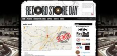 An aspect of this website that I really like is the banner and logo for Harrisonburg's Record Day Store. They incorporated the product they were selling into the name of the store so the user immediately knows what is in store for them. If at all possible, I would like to include something in my own site that resembles this idea of incorporating a related image into the name of my site.
