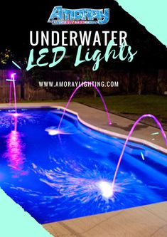 These high-quality Nicheless LED Underwater Lights are Corrosion free,Waterproof & to be used for Pools,Ponds,Lakes,Fountains Inground Pool Lights, Underwater Led Lights, Ponds, Lakes, Fountain, Decorating, Lighting, Free, Decor