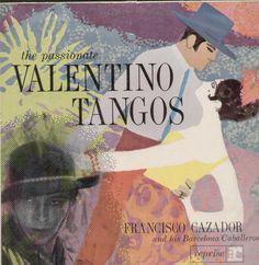 The Passionate Valentino Tangos English Vinyl LP