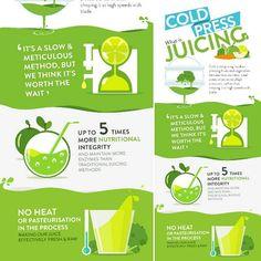 #Infographic #Design Cold Press Juice