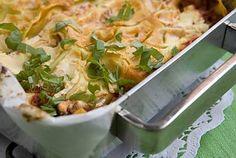Resepti: Tomaatti-mozzarella lasagne