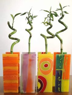 Glass Cactus, Glass Vase, Flower Art, Art Flowers, Fused Glass Art, Glass Flowers, Stained Glass Patterns, Glass Garden, Corporate Gifts