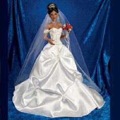 Glory of Love Bride Doll Cindy McClure Ashton Drake Bradford Exchange Doll  #ad