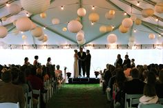 Montana Governor Brian Schweitzer officiates a wedding in Big Sky's Lone Peak Pavilion