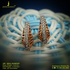 Real Diamond Luxury Design Get in touch with us on Diamond Jewellery, Gold Jewelry, Jewelry Rings, Designer Jewellery, Jewelry Design, Bangle Bracelets, Bangles, Diamond Tops, Piercing