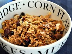 granola recipes from serious eats