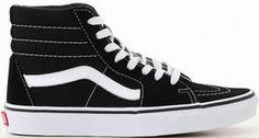 Vans SK8-HI black/white - Tennarit - 116185 - 1