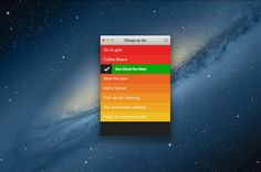 Clear. Ingenious iPhone To-Do List Comes To The Desktop