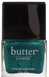Makeup Trends Review, Photos, Swatches: Pantone Emerald Green 2013 Color Of Year - Butter London Henley Regatta