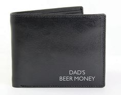 Order Personalised Black Leather Wallet for just from The Engraved Gifts Company. Our Personalised Black Leather Wallet also comes with free personalisation options.