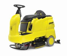 """The B 90 R ride-on scrubber is one of the most versatile ride-on scrubbers available on the market today. Standard with counter-rotating 26"""" cylindrical scrub brushes that provide pre-sweeping and high scrubbing power, the scrub deck can easily be changed to 22"""" or 30"""" deck heads in either cylindrical or disk configurations.  Featuring large capacity water and waste tanks,EASY™ controls as well as tool-free brush removal, the B 90 R is the ideal ride-on scrubber."""
