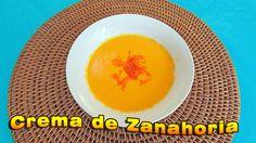 Rica receta para preparar una Crema de Zanahoria, explicada paso a paso, muy fácil de hacer. Sigue el link: https://youtu.be/fLPBqXAvcpM