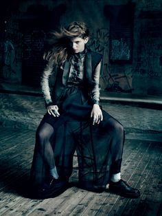 Rock'N'Roll | Caterina Ravaglia | Paolo Roversi  #photography  | 7000 Magazine Issue 1
