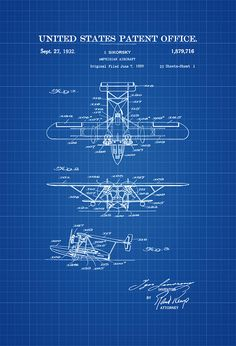 1947 airplane patent vintage aviation art airplane art airplane amphibian airplane patent vintage airplane airplane blueprint airplane art pilot gift aircraft decor airplane poster malvernweather Image collections