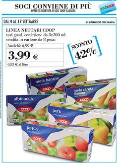 Fino al 17 settembre promozioni per tutti i consumatori nei negozi Coop Casarsa e offerte dedicate per i soci