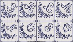 Resultado de imagem para schemi punto croce alfabeto