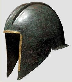 Illyrian Helmet with Gold Trim, 6th-5th Century BC at Ancient & Medieval History