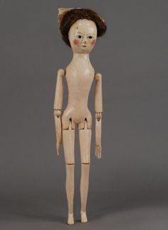 Georgian Wooden Doll