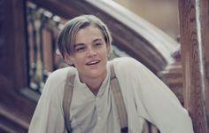 Young Leonardo Dicaprio in Titanic