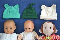 cappelli da neonato - newborn hats