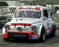 Fiat 500, Fiat Abarth, Cars And Motorcycles, Race Cars, Racing, Vehicles, Garage, Cars Motorcycles, Motors